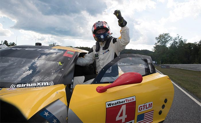 Chevrolet Salutes Oliver Gavin as He Concludes Full-Time Role with Corvette Racing