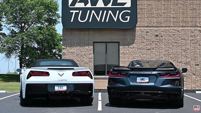 [VIDEO] Rev Battle Pits the C7 vs C8: Which Corvette Sounds Better?