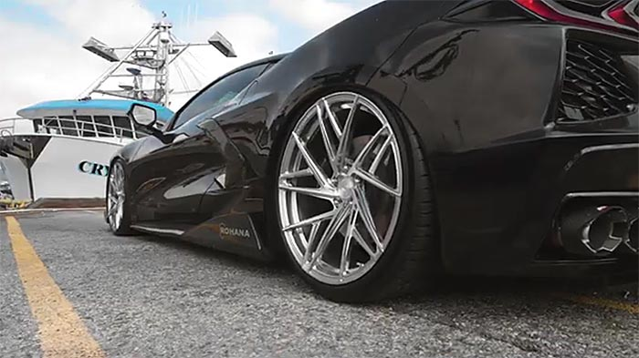 [VIDEO] 2020 Corvette Equipped with Air Suspension and Rohana Custom Wheels