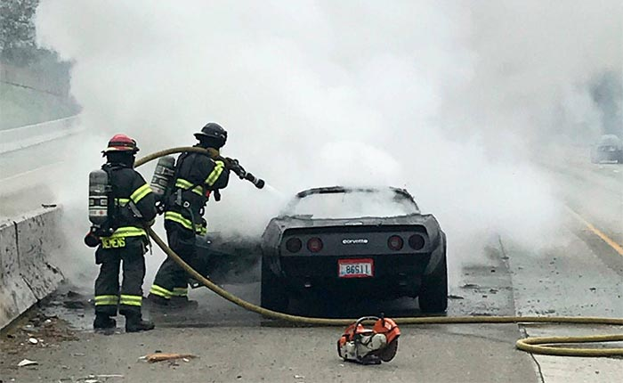 [ACCIDENT] Puget Sound Firefighters Called to Extinguish a C3 Corvette on Fire