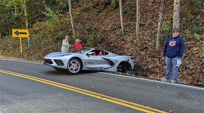 [ACCIDENT] 2020 Corvette and a Miata Collide on Tail of the Dragon