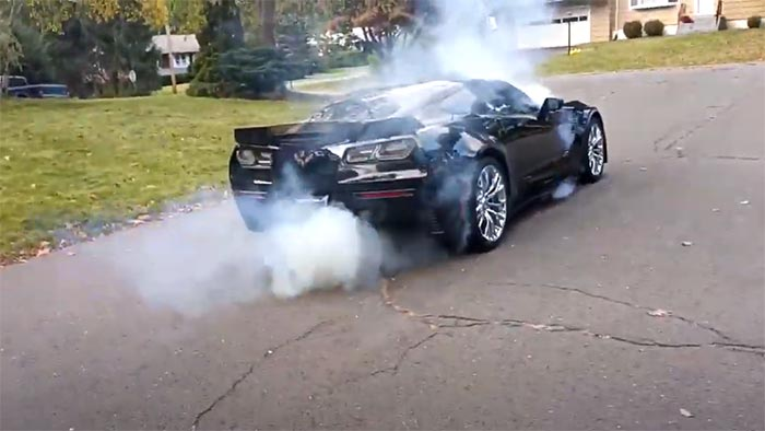 [VIDEO] Clueless Driver Roasts the Clutch of a C7 Corvette Z06
