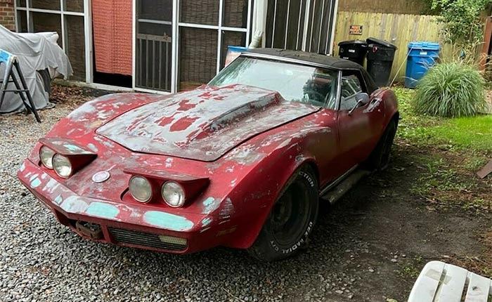 Corvettes on eBay: Does This 1970 Corvette Deserve To Be Saved?