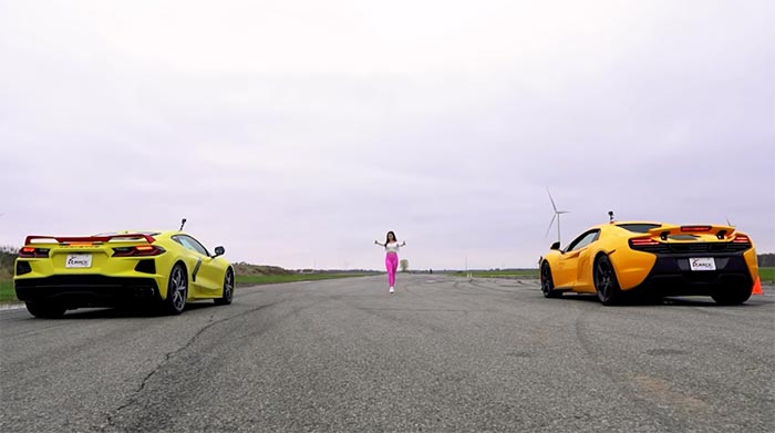 [VIDEO] Watch a C8 Corvette Tangle with a McLaren 650S on Track Attack