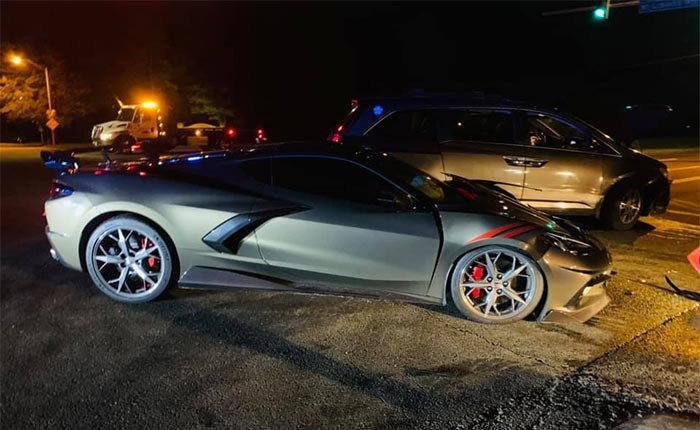 [ACCIDENT] Owner Praises the Safety Protections of the C8 Corvette After Crashing Into A SUV