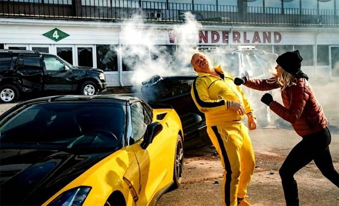 The 2014 Corvette From the Mark Wahlberg Movie 'Spencer Confidential' is For Sale on Craigslist