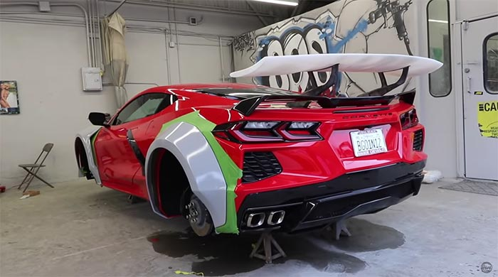 [VIDEO] TJ Hunt Shares Update on His StreetHunter USA C8 Corvette Widebody Project
