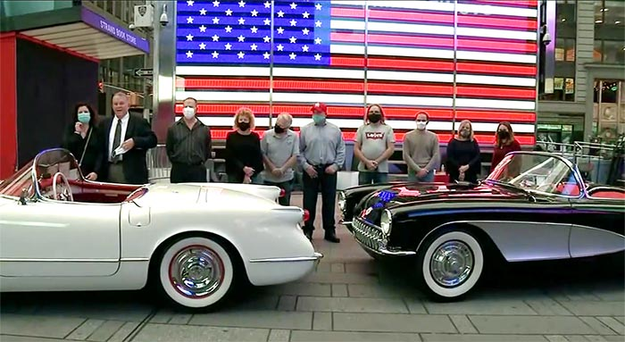 The Lost Corvette Winners in Times Square