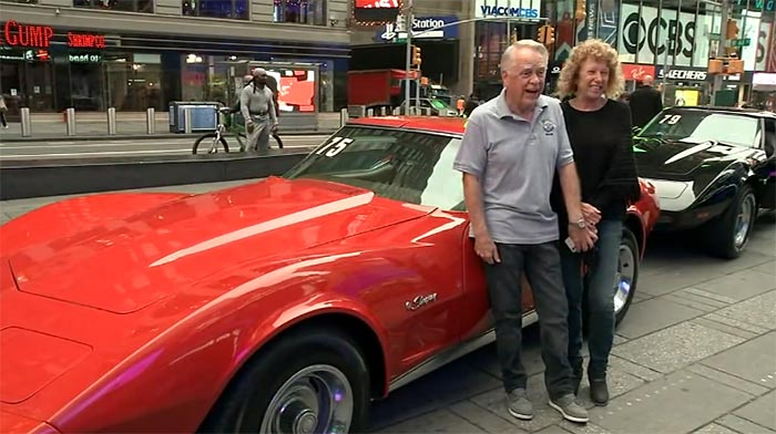 [VIDEO] First 10 Winners of the Lost Corvettes Receive their Cars in Times Square Ceremony
