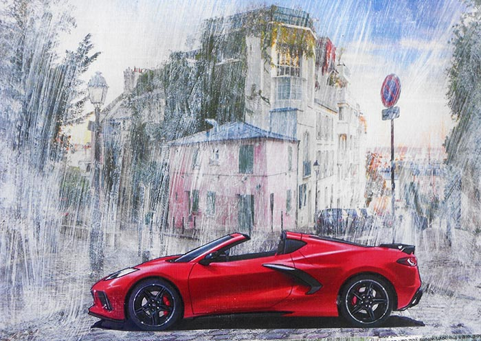 Meet Wallace Wyss, the Corvette Ad Man Who Became a Corvette Artist