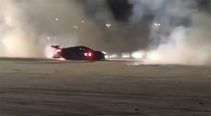 [VIDEO] Oliver Gavin Leaves A Smokey Salute to the Fans at Sebring