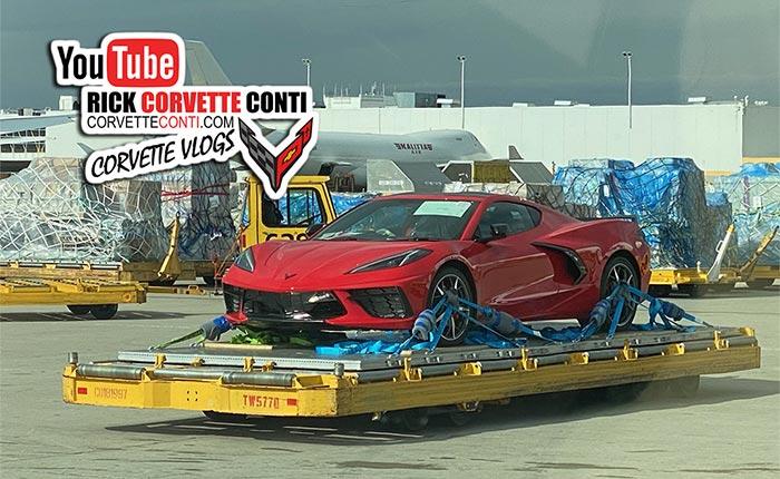 [SPIED] First Pics of the RHD C8 Corvette Stingray