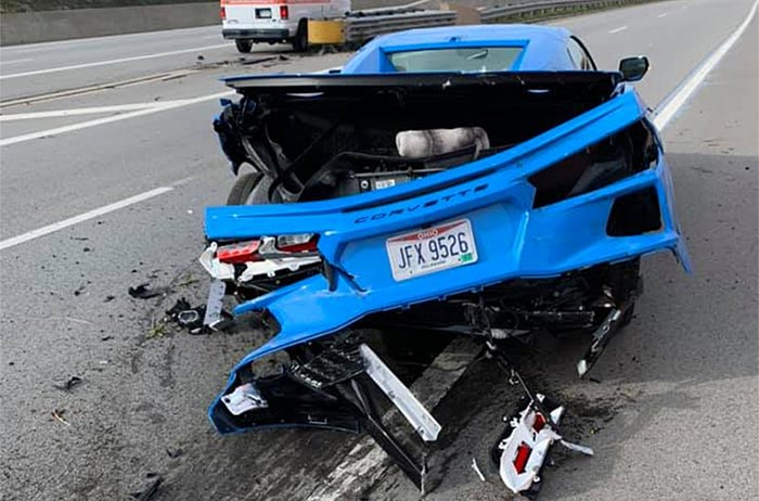 [ACCIDENT] First Crash Involving a 2020 Corvette Convertible?