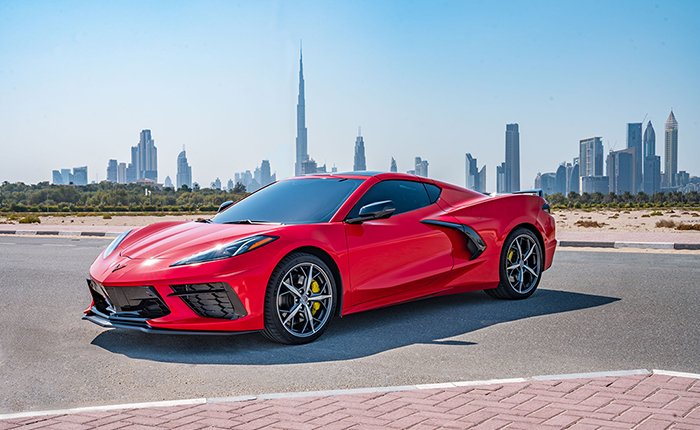 2020 Corvette Stingray Goes on Sale in the Middle East