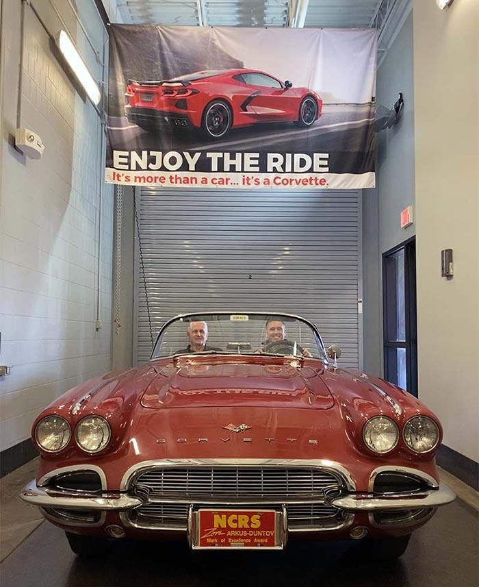 [VIDEO] Award-Winning 1961 Corvette Donated To The National Corvette Museum
