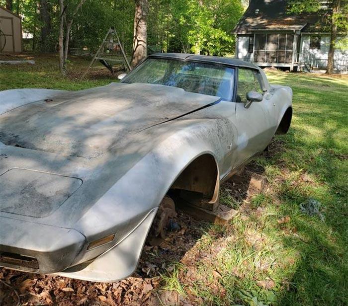 Corvettes on Craigslist: Former L82 1979 Corvette Backyard Find