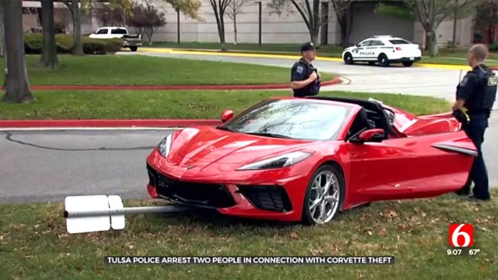 [STOLEN] Theft of a 2020 Corvette Stingray in Tulsa Thwarted By Onstar