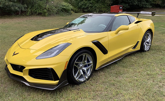 Start Your Holiday Shopping Early With This 5-Mile 2019 Corvette ZR1 on Bring a Trailer