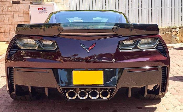 ACS C7 Corvette Rear Diffuser Fins