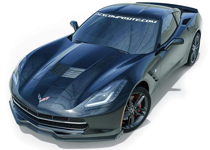 Stage 2 Z06-Style Front Splitter