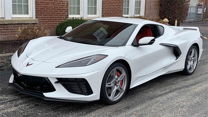 Mecum Auctions Offering a 2020 Corvette During This Weekend's Sale in Houston