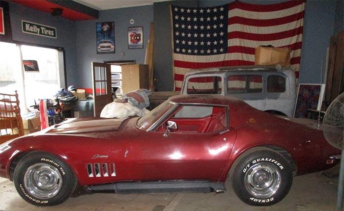 Corvettes on Craigslist: 1969 Corvette Garage Find