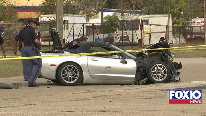 [ACCIDENT] C5 Corvette Driver Crashes During High Speed Pursuit in Alabama