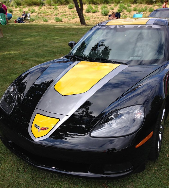 Corvettes for Sale: Rare 2009 Corvette Black GT1 Coupe with VIN #010