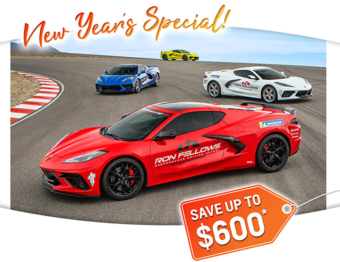 Save $300 and Receive a Second Night Stay at the C8 Corvette Owners School