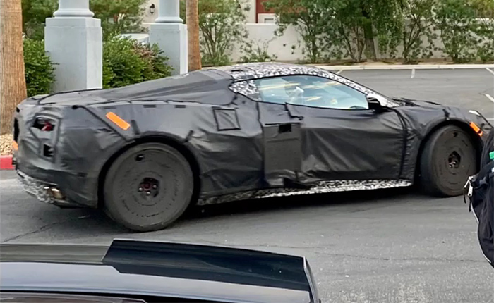 [SPIED] New Extended Video Shows C8 Corvette Prototypes Driving through Mountains and City Streets