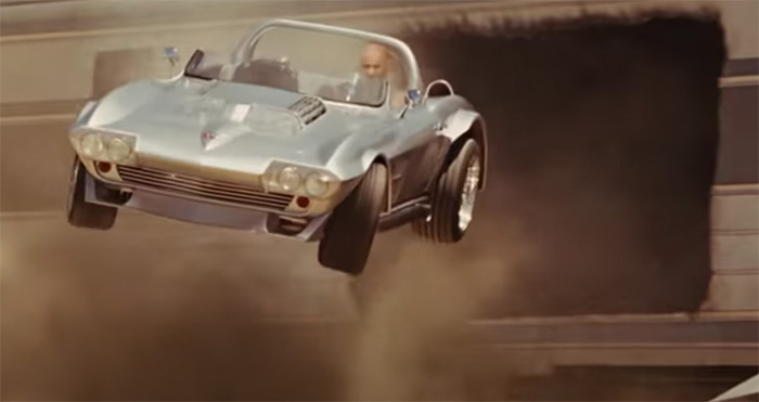 [VIDEO] This Fast and Furious Stunt with a C2 Corvette Cost $25 Million to Pull Off