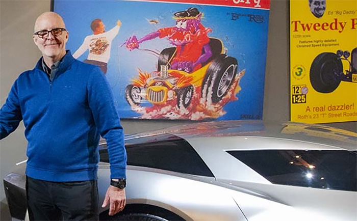 Retired GM Designer Tom Peters Joins the National Corvette Museum