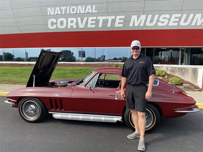 Corvette Plant Manager Kai Spande Lends His 1966 Corvette to the National Corvette Museum
