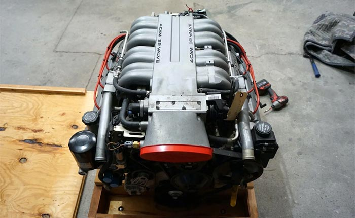 The First 32-Valve DOHC LT5 V8 Engine Ever Produced Is Now For Sale