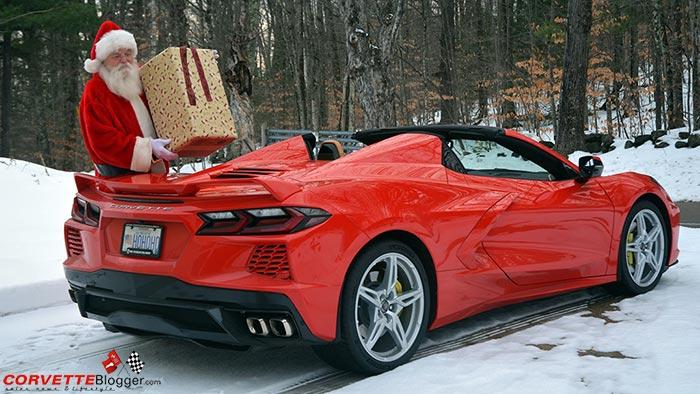 Santa's New Sleigh is a 2020 Corvette!