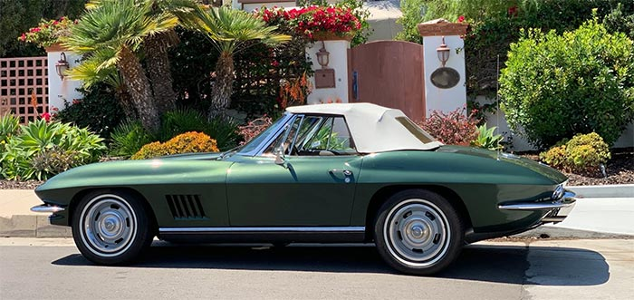 Corvettes for Sale: 1967 Corvette Convertible on Bring A Trailer