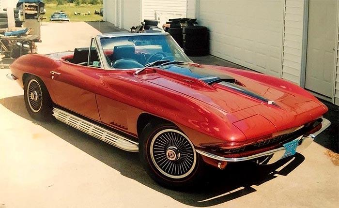 [STOLEN] 1967 Corvette Stolen During Online Estate Auction in Franklin, Wisconsin