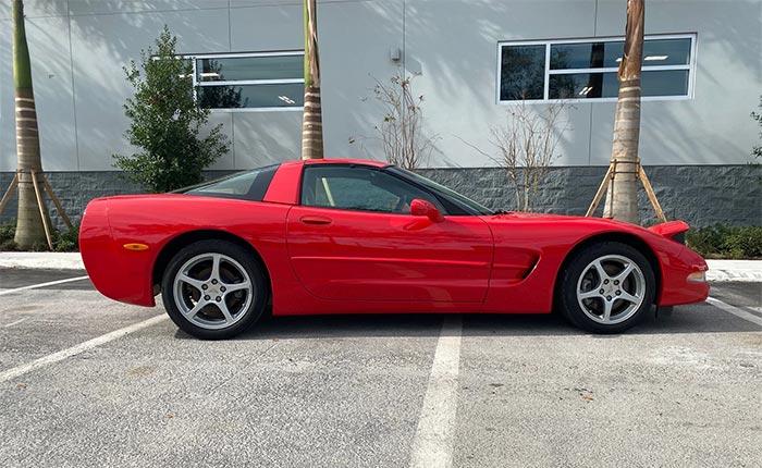 Corvettes for Sale: Original 4K-Mile 2002 Corvette Offered on BAT at No Reserve!
