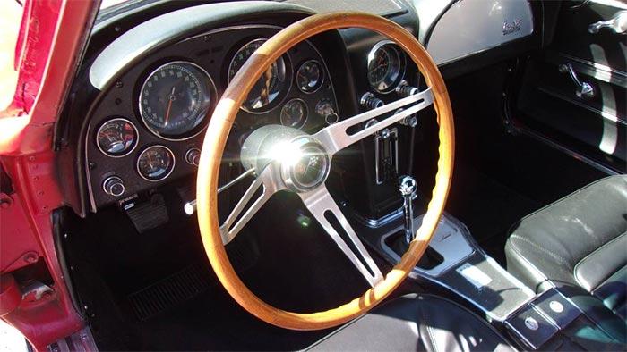 Corvettes on Craigslist: NOM 1966 Corvette Plus an Extra Gallon of Red Lacquer Paint