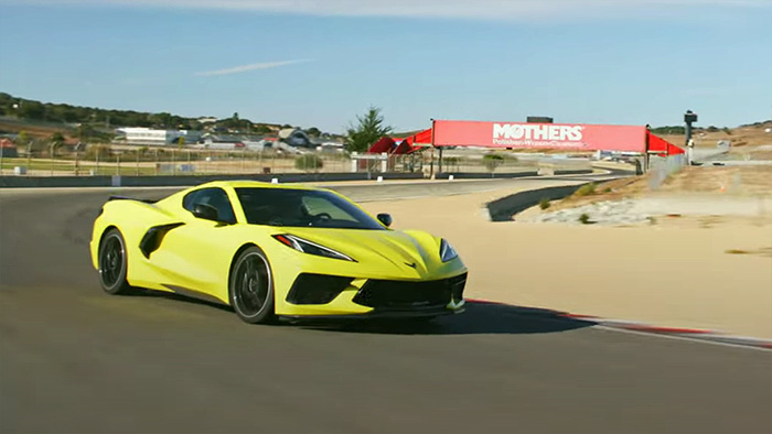 [VIDEO] Randy Pobst Hot Laps the C8 Corvette at Laguna Seca for MotorTrend