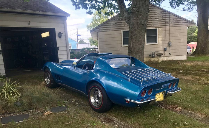 Corvettes on Craigslist: Numbers-Matching 1968 Corvette Survivor