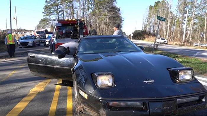New C4 Corvette Owner Arrested and His Car Impounded Following High Speed Chase