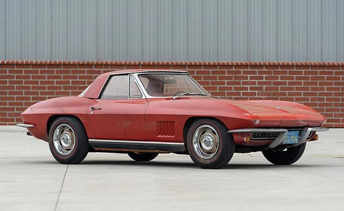 unrestored 1967 327/350 roadster