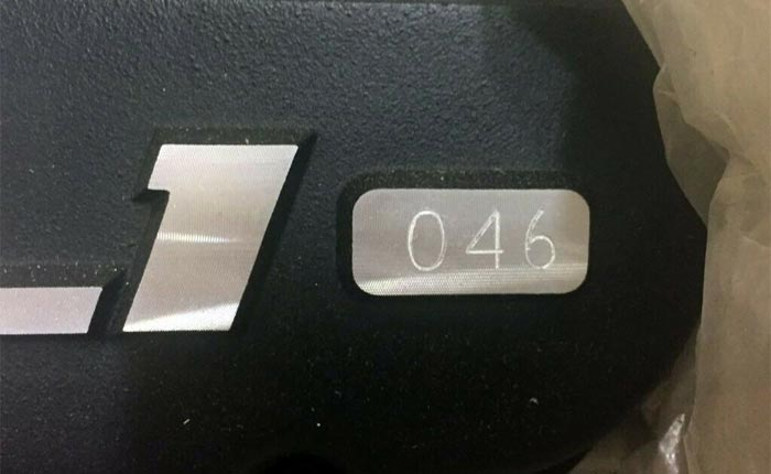 Corvettes on eBay: Rare GM Performance Anniversary ZL1 Crate Motor No. 46 of 200 Produced