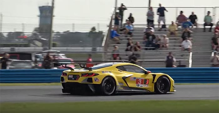 [VIDEO] Corvette C8.R Start Up and Testing at Daytona