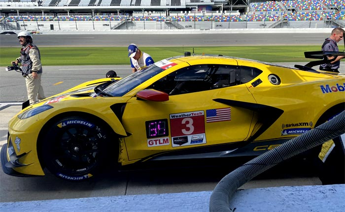 Corvette Racing at Daytona: Encouraging Test Weekend for Mid-Engine Corvette C8.R