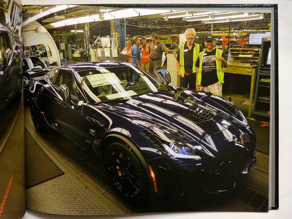 NCM Photo Album Commemorates Your 2020 Corvette Build