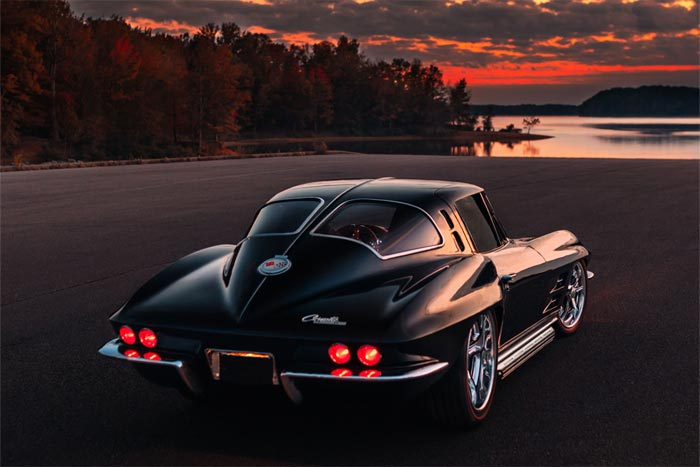 Wild 1963 Corvette Split-Window Restomod Heading to Barrett-Jackson Scottsdale