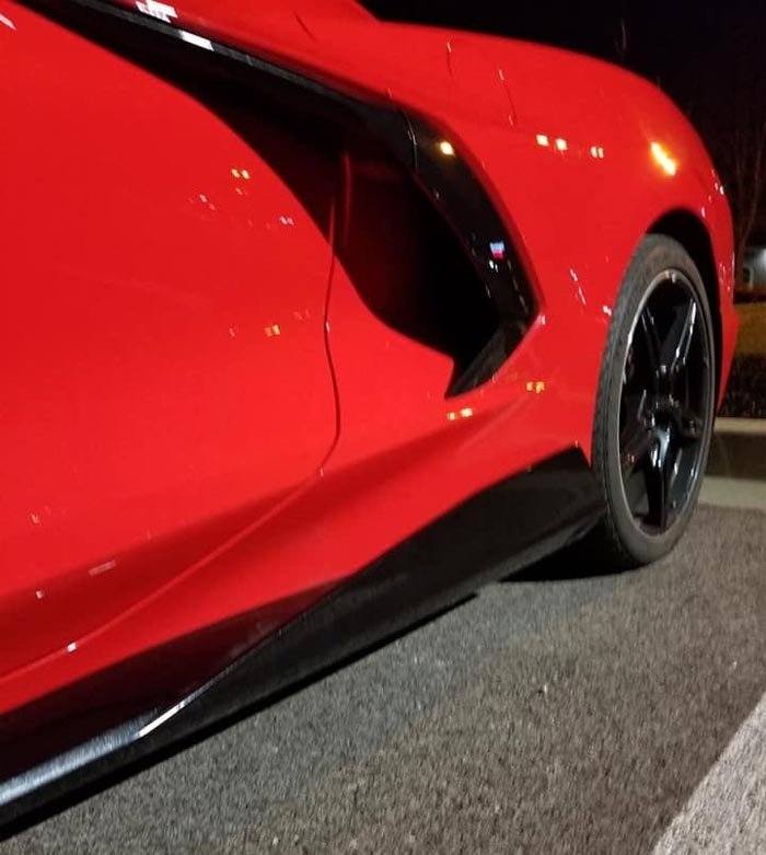 [SPIED] First Photos Show C8 Corvette Stingray Wearing Optional Ground Effects