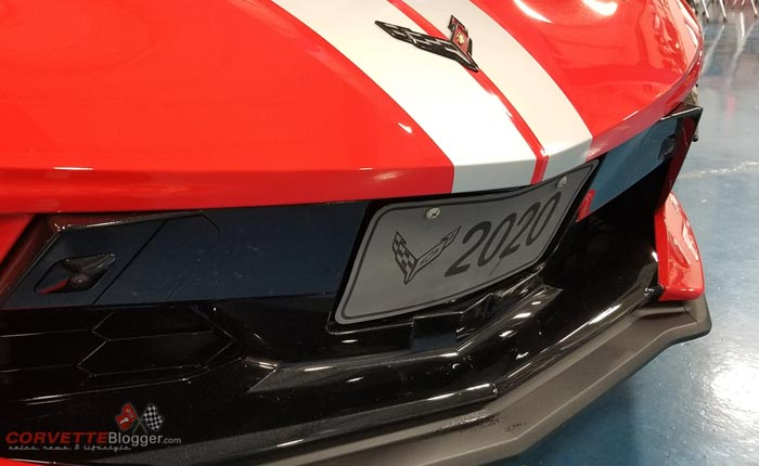 EXCLUSIVE: Installing a Front License Plate on the 2020 Corvette